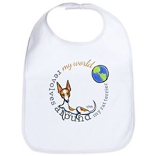 Rat Terrier My World Bib