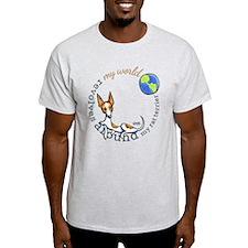 Rat Terrier My World T-Shirt