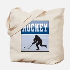 Hockey Poster Tote Bag