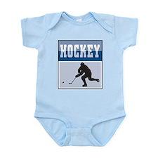 Hockey Poster Infant Bodysuit