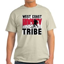 West Coast Hockey Ash Grey T-Shirt