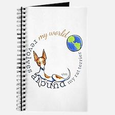Rat Terrier My World Journal