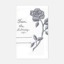 Rose bookplate