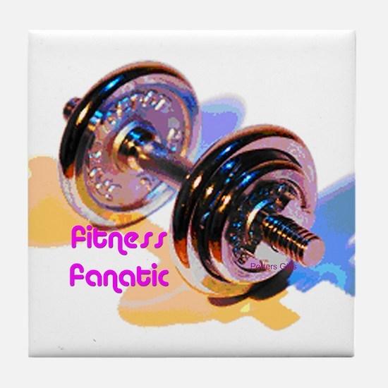 Fitness Tile Coaster - Fanatic
