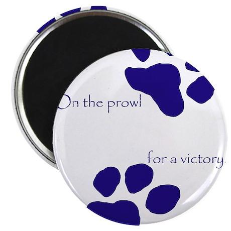 """Tiger Paw Blue 2.25"""" Magnet (10 pack)"""