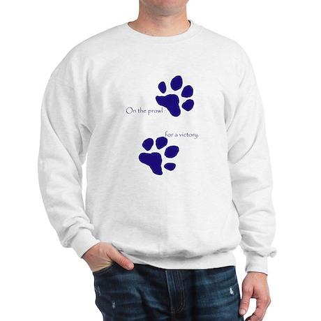 Tiger Paw Blue Sweatshirt