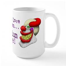 Large Scary Clowns Mug