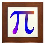 1000 digits of PI - Framed Tile