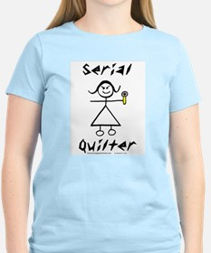 Serial Quilter Unisex Ash Grey T-Shirt