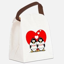 We Are Engaged.png Canvas Lunch Bag