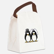Bride and Groom.jpg Canvas Lunch Bag