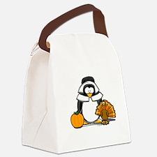 Pilgrim Girl copy.png Canvas Lunch Bag