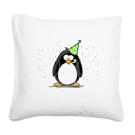 Party.jpg Square Canvas Pillow