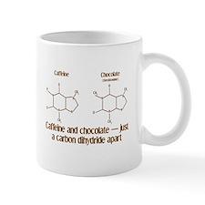 Caffeine & Chocolate Small Mugs