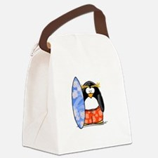 surfing.png Canvas Lunch Bag