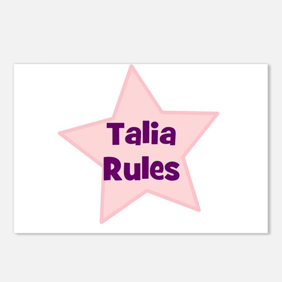 Talia Rules Postcards (Package of 8)
