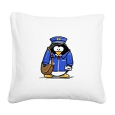 mailman copy.png Square Canvas Pillow