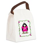 Mom.png Canvas Lunch Bag