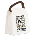 how many is too many.png Canvas Lunch Bag