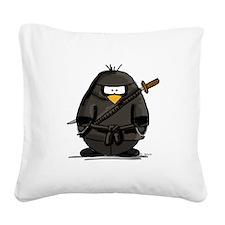 ninja.png Square Canvas Pillow