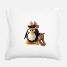 Cowboy.jpg Square Canvas Pillow