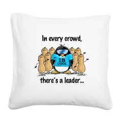 In Every Crowd.jpg Square Canvas Pillow