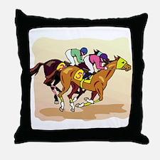THOROUGHBRED Throw Pillow