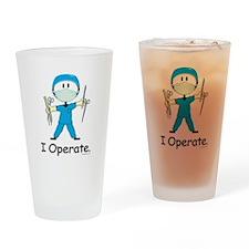 Surgeon Drinking Glass