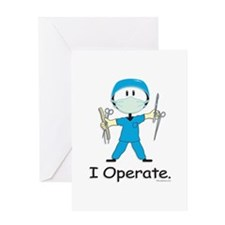 Surgeon Greeting Card