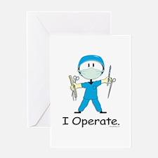 Surgeon Greeting Card