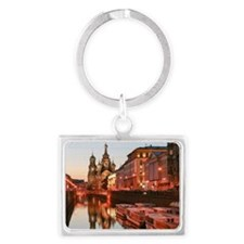 Church of Saint Petersburg Landscape Keychain