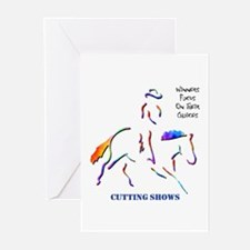Cutting Shows Greeting Cards (Package of