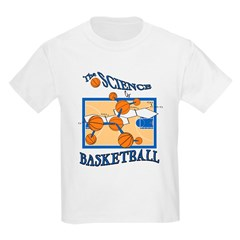 The Science Of Basketball Kids T-Shirt