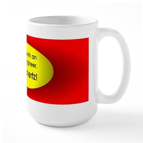 Electrical Engineer Oval Large Mug