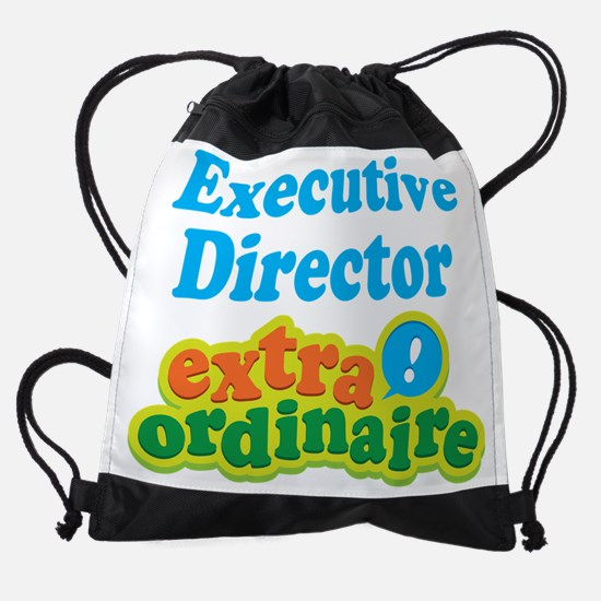 Executive Director Extraordinaire Drawstring Bag