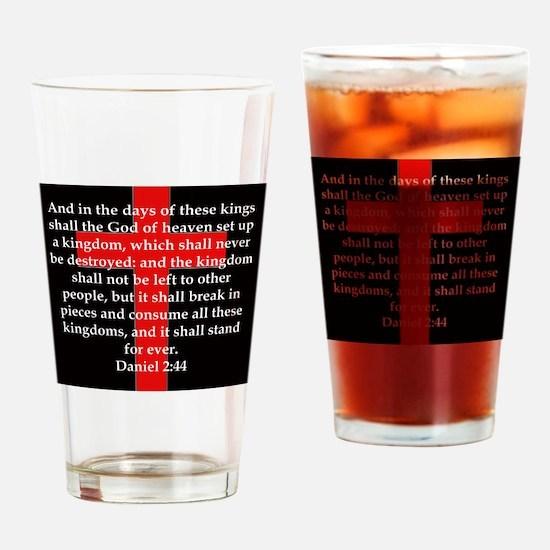 Daniel 2-44 Drinking Glass