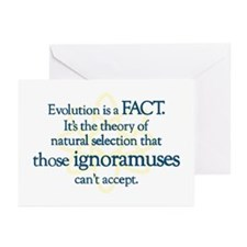 Evolution is a FACT Greeting Cards (Pk of 10)