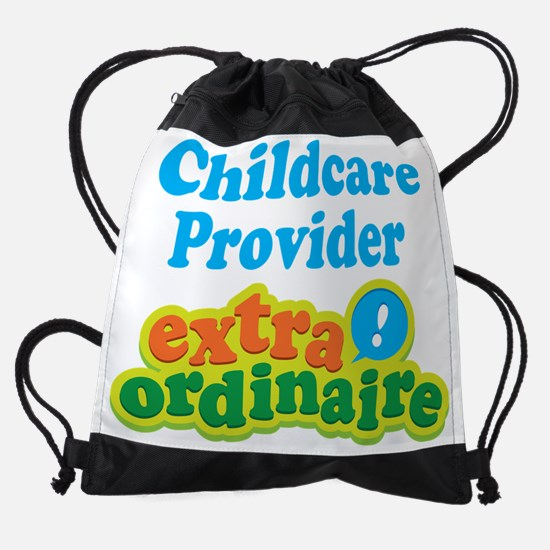Childcare Provider Extraordinaire Drawstring Bag