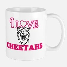 I Love Cheetahs Mugs