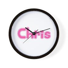 """Chris"" Wall Clock"