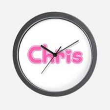 """Chris"" Wall Clock"