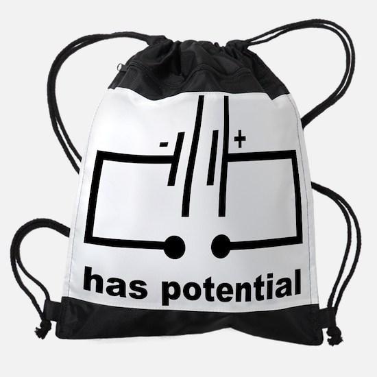 Has Potential Drawstring Bag