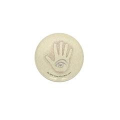 Earthtone Petro EyeHand Mini Button (10 pack)