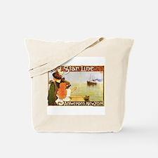 Unique Vintage star Tote Bag