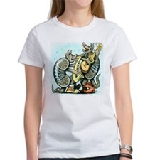 Funny A is for armadillo Tee
