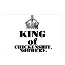 King of Chickenshit Nowhere Postcards (Package of