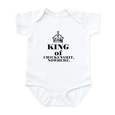 King of Chickenshit Nowhere Infant Bodysuit