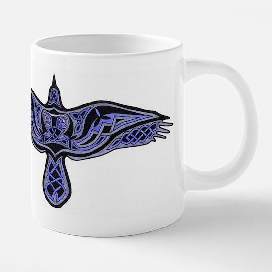 Celtic Raven Mugs