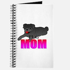 Black Pug Mom Journal