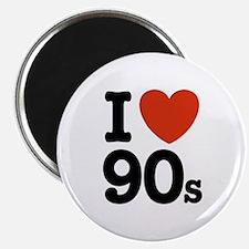 I Love 90s Magnet